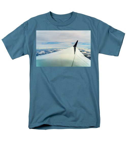 Wing And Clouds Men's T-Shirt  (Regular Fit) by Robert FERD Frank