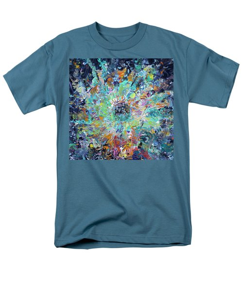 Men's T-Shirt  (Regular Fit) featuring the painting Winners And Losers by Fabrizio Cassetta