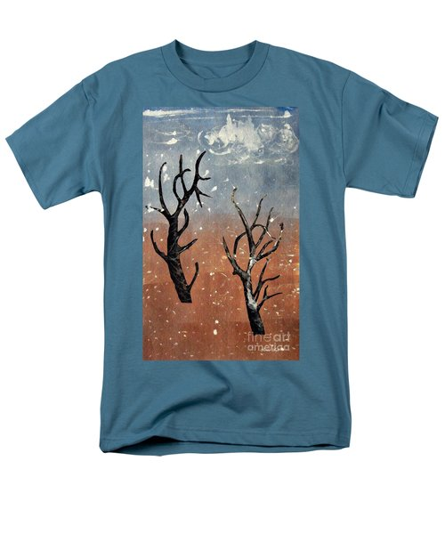 Winter Day Men's T-Shirt  (Regular Fit) by Sarah Loft