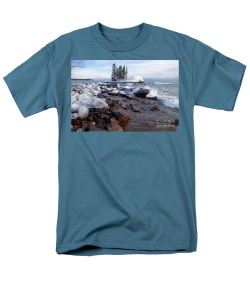 Winter Delight Men's T-Shirt  (Regular Fit) by Sandra Updyke