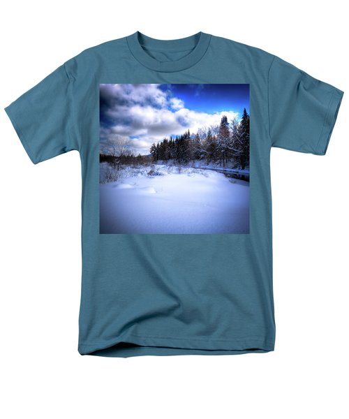 Men's T-Shirt  (Regular Fit) featuring the photograph Winter Highlights by David Patterson