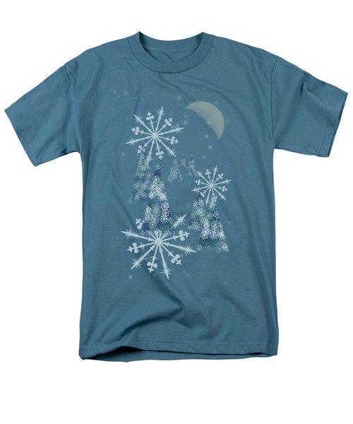 Winter Night Men's T-Shirt  (Regular Fit)