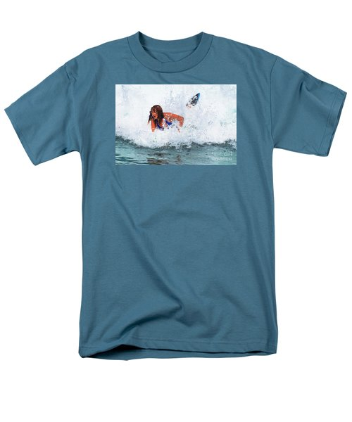 Wipeout - Painterly Men's T-Shirt  (Regular Fit) by Scott Cameron