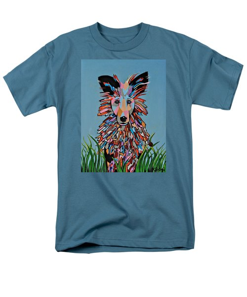 Men's T-Shirt  (Regular Fit) featuring the painting Wiz by Kathleen Sartoris