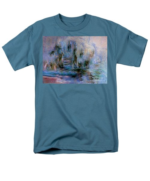 Wood Art  Lost In Time Men's T-Shirt  (Regular Fit) by Sherri's Of Palm Springs