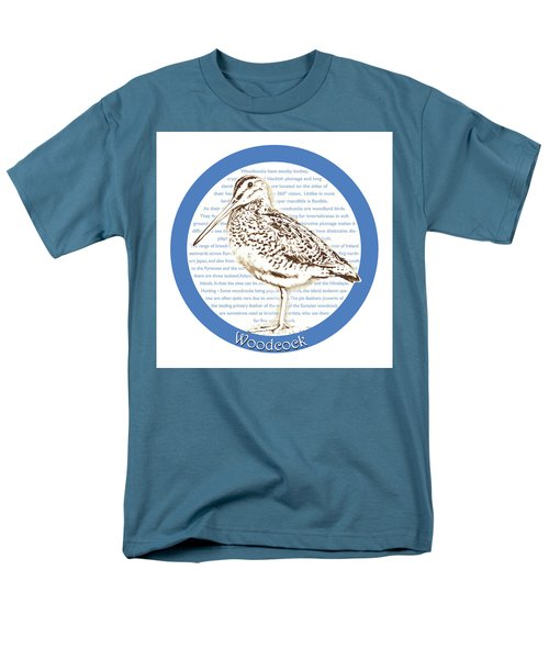 Woodcock Men's T-Shirt  (Regular Fit) by Greg Joens