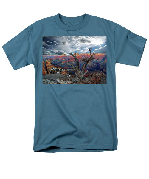 Yaki Point Grand Canyon Men's T-Shirt  (Regular Fit) by Anthony Dezenzio