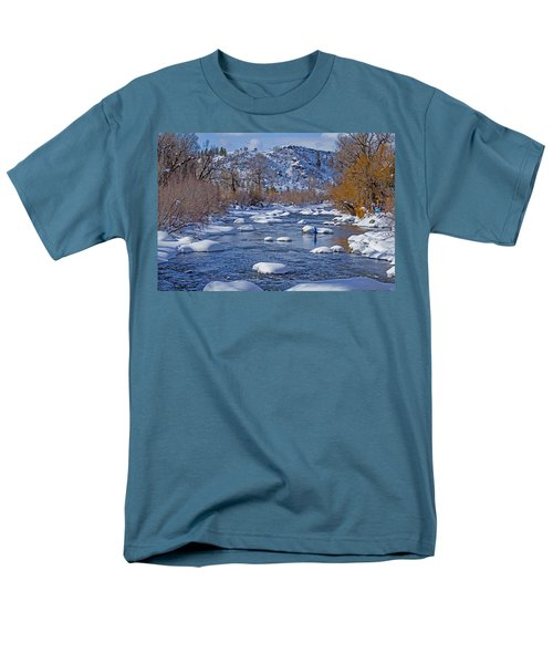 Yampa River Men's T-Shirt  (Regular Fit) by Sean Allen