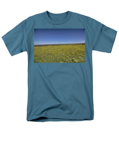 Men's T-Shirt  (Regular Fit) featuring the photograph Yellow Blanket II by Douglas Barnard