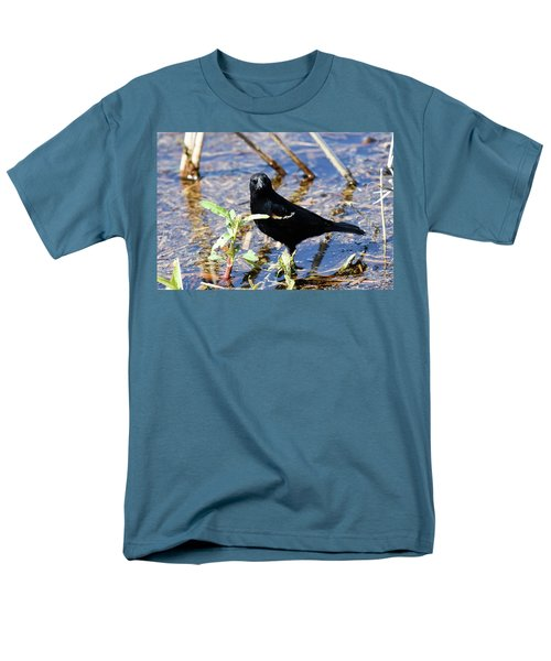 Men's T-Shirt  (Regular Fit) featuring the photograph You Looking At Me by Gary Wightman