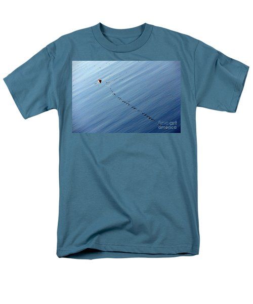 Zip Men's T-Shirt  (Regular Fit) by Priscilla Richardson