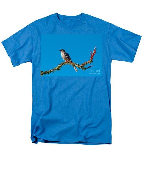 Northern Mockingbird Men's T-Shirt  (Regular Fit) by Robert Bales