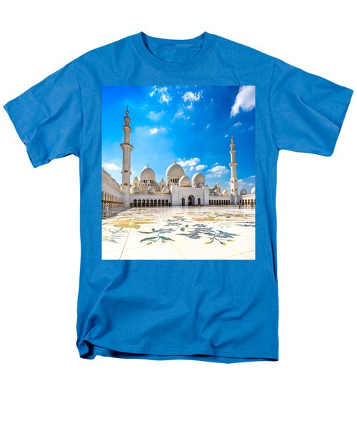 Sheikh Zayed Mosque - Abu Dhabi - Uae Men's T-Shirt  (Regular Fit) by Luciano Mortula