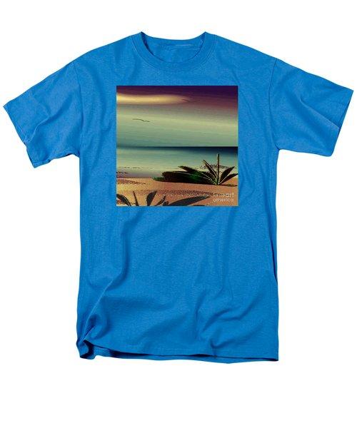Sunset On The Beach Men's T-Shirt  (Regular Fit) by Iris Gelbart