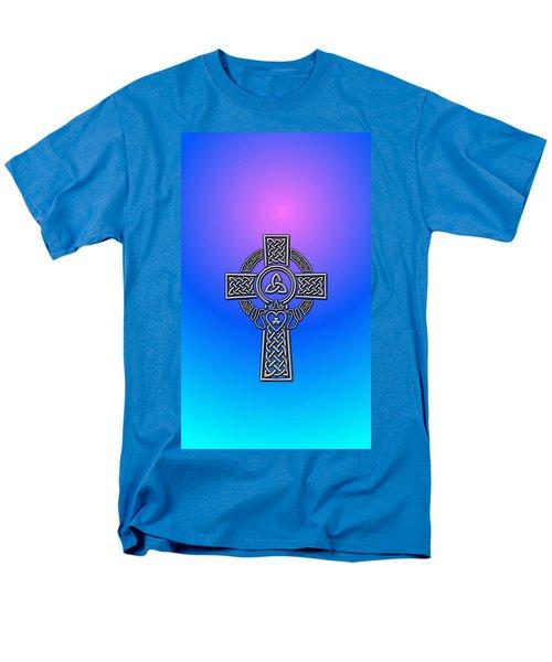 Celtic Cross Men's T-Shirt  (Regular Fit) by Ireland Calling