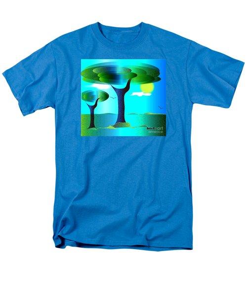 Sunny Day   Men's T-Shirt  (Regular Fit) by Iris Gelbart