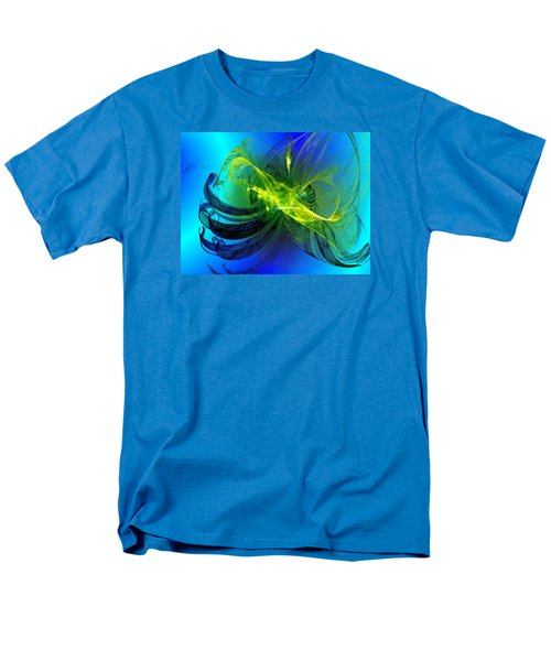 Men's T-Shirt  (Regular Fit) featuring the digital art 47 by Jeff Iverson