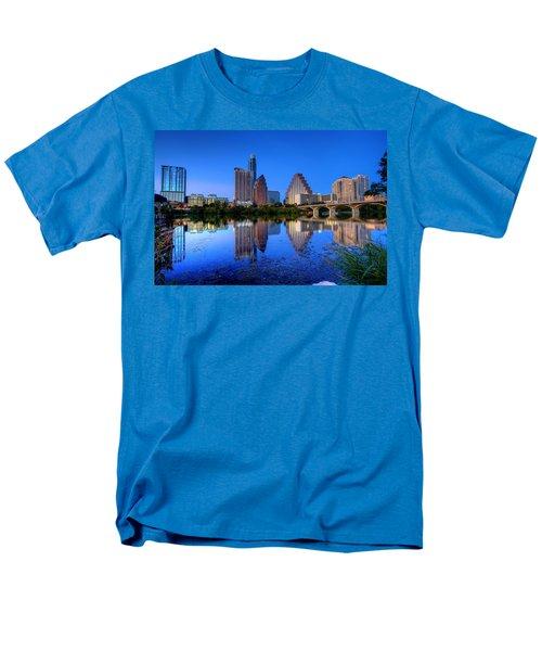 A Beautiful Austin Evening Men's T-Shirt  (Regular Fit) by Dave Files