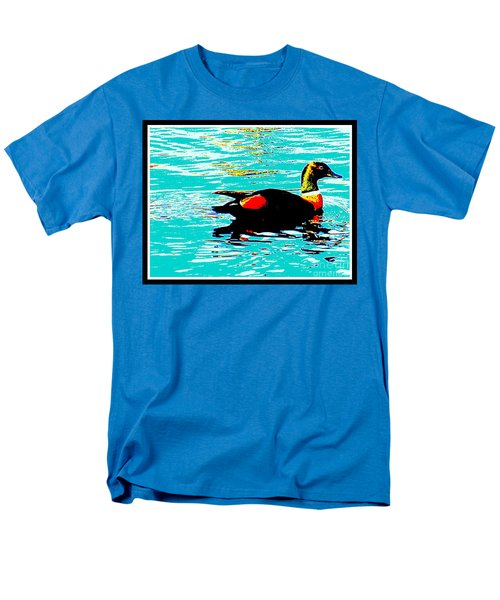 A Duck Is A Duck In A Pond Men's T-Shirt  (Regular Fit)