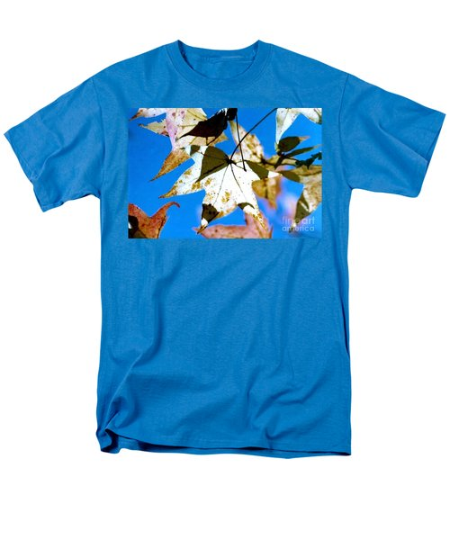 Men's T-Shirt  (Regular Fit) featuring the photograph Autumn  In New Orleans Louisiana by Michael Hoard