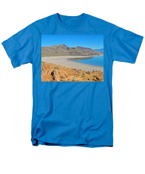 Antelope Island Men's T-Shirt  (Regular Fit) by Dan Miller