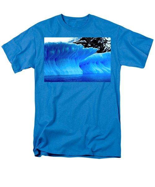 Blue Iceberg Men's T-Shirt  (Regular Fit) by Amanda Stadther