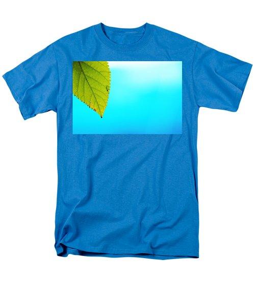 Blue Lagoon Men's T-Shirt  (Regular Fit) by Prakash Ghai