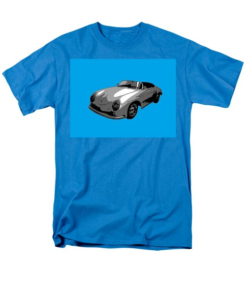 Men's T-Shirt  (Regular Fit) featuring the photograph Blue Speedster by J Anthony