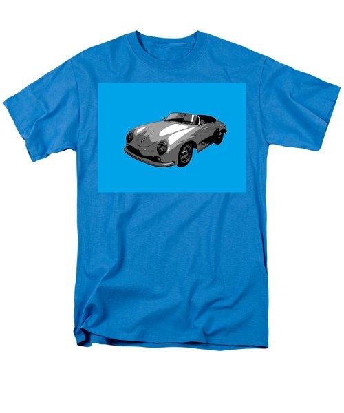 Blue Speedster Men's T-Shirt  (Regular Fit) by J Anthony