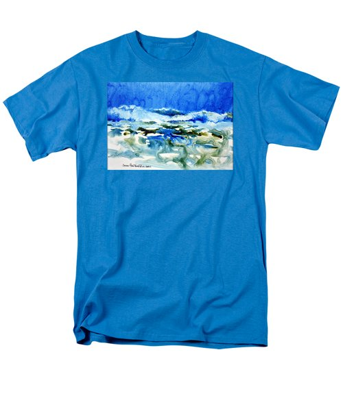 Blue Surf Men's T-Shirt  (Regular Fit) by Joan Hartenstein