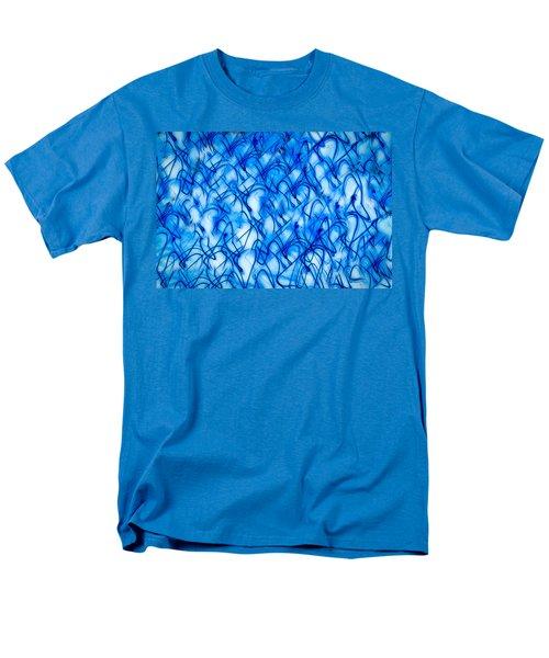 Blue Wispy Men's T-Shirt  (Regular Fit) by Don Gradner