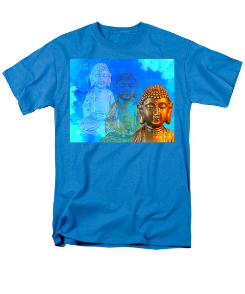 Buddha's Thoughts Men's T-Shirt  (Regular Fit) by Ginny Gaura