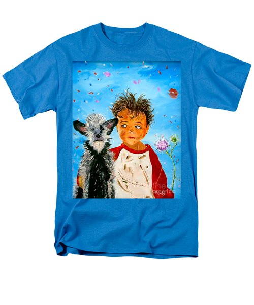 Men's T-Shirt  (Regular Fit) featuring the painting Buddies by Phyllis Kaltenbach