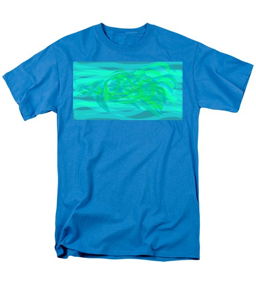 Men's T-Shirt  (Regular Fit) featuring the digital art Camouflage Fish by Stephanie Grant