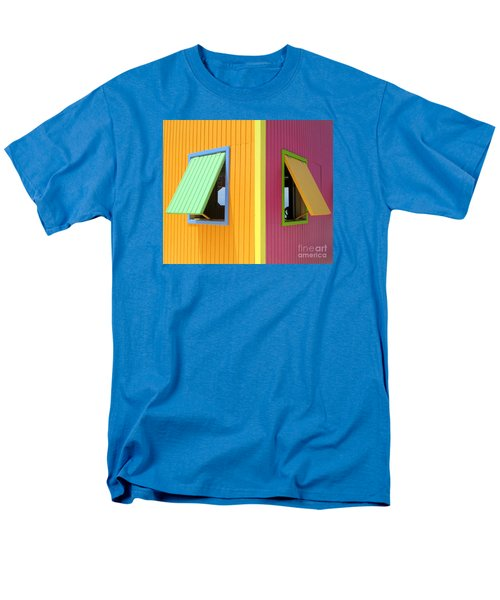 Caribbean Corner 3 Men's T-Shirt  (Regular Fit) by Randall Weidner
