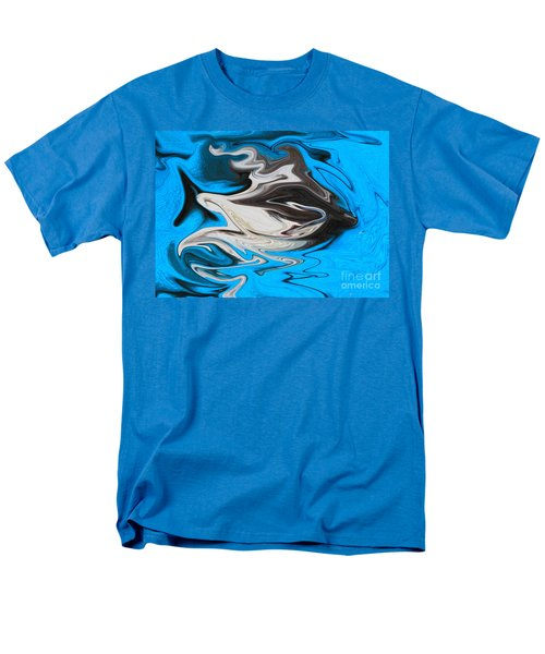 Men's T-Shirt  (Regular Fit) featuring the photograph Abstract Cat Fish by Linsey Williams