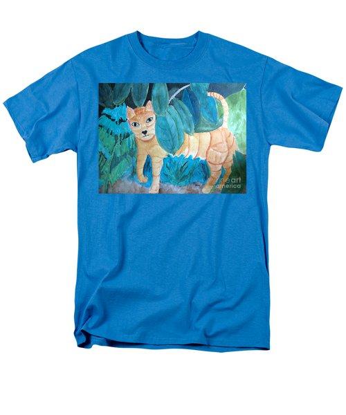 CAT Men's T-Shirt  (Regular Fit) by Sandy McIntire