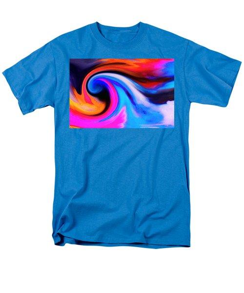 Caught Curl Men's T-Shirt  (Regular Fit) by Expressionistart studio Priscilla Batzell
