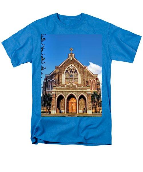Men's T-Shirt  (Regular Fit) featuring the photograph Church 1 by Dawn Eshelman