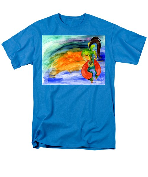 Men's T-Shirt  (Regular Fit) featuring the painting Dancing Tree Of Life by Mukta Gupta
