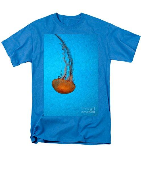 Deep Blue Men's T-Shirt  (Regular Fit) by Shari Nees