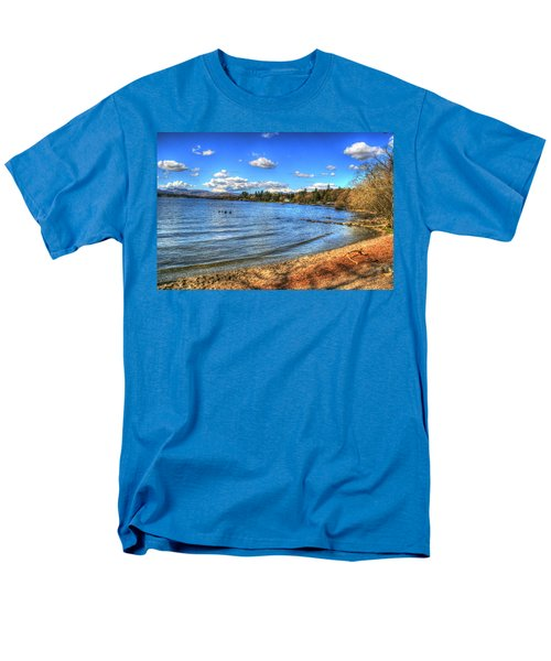 Men's T-Shirt  (Regular Fit) featuring the photograph Down By The Riverside by Doc Braham