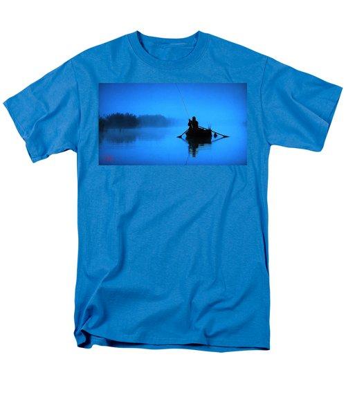 Early Morning Fishing  Men's T-Shirt  (Regular Fit) by Colette V Hera  Guggenheim