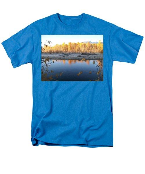 Fall Reflection 2 Men's T-Shirt  (Regular Fit) by Jewel Hengen