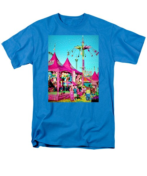 Men's T-Shirt  (Regular Fit) featuring the digital art Fantasy Fair by Jennie Breeze