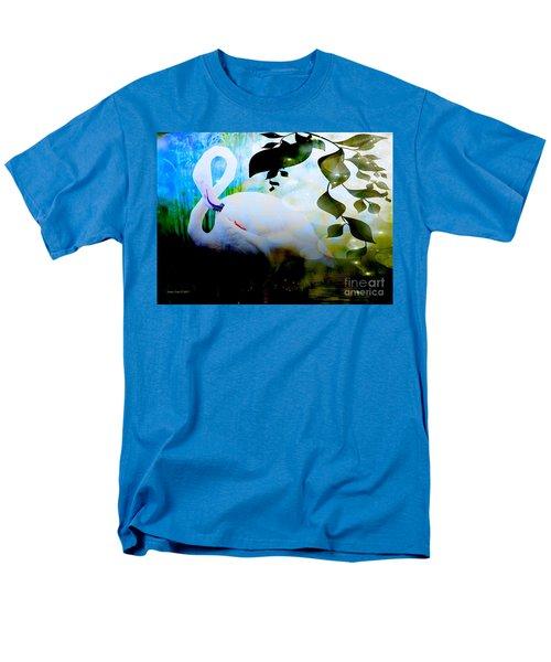 Flamingo Men's T-Shirt  (Regular Fit) by Annie Zeno