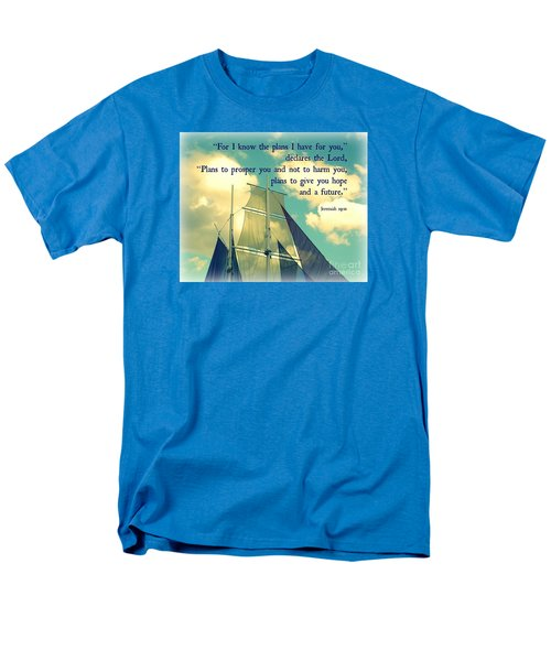 Hope And A Future Men's T-Shirt  (Regular Fit) by Valerie Reeves