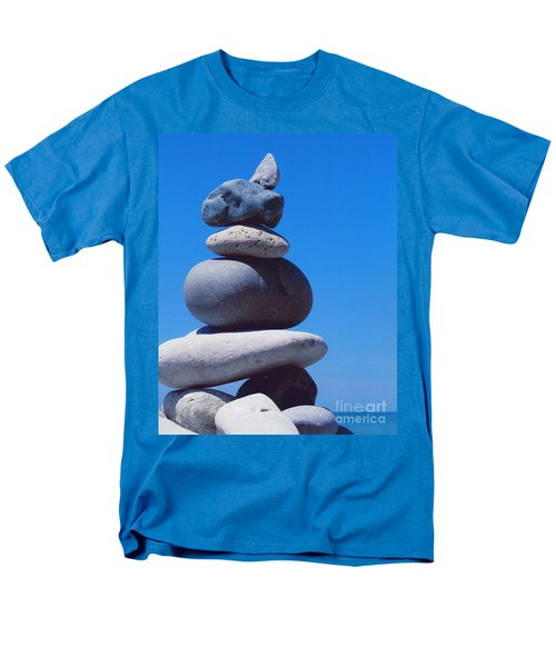 Inukshuk 1 By Jammer Men's T-Shirt  (Regular Fit) by First Star Art