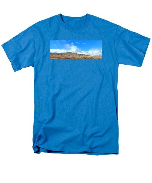 It Snowed Last Night Men's T-Shirt  (Regular Fit) by Marilyn Diaz