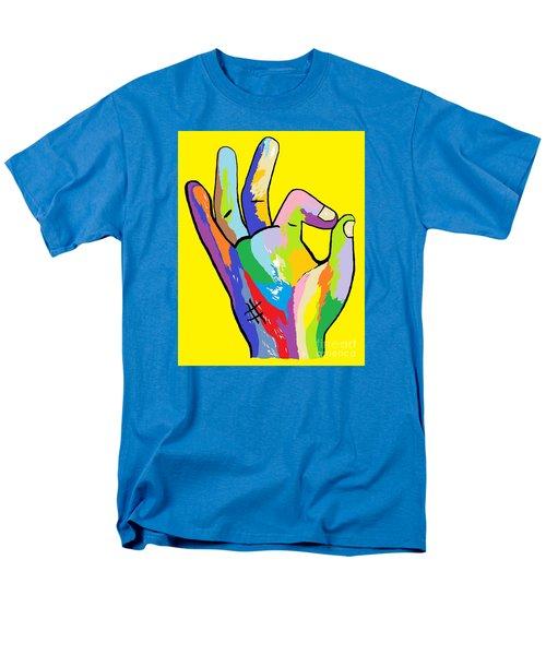 It's Ok Men's T-Shirt  (Regular Fit) by Eloise Schneider